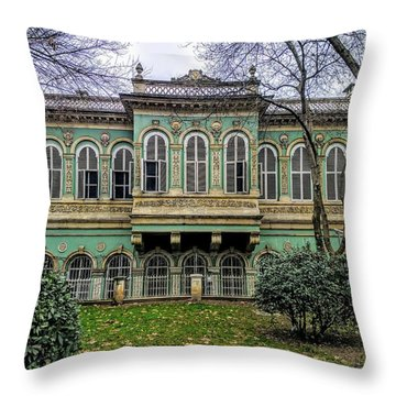 Sultan's Retreat Throw Pillow