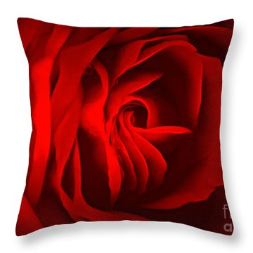 Sultry Mood Throw Pillow