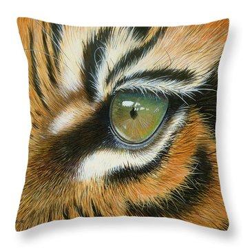 Sumatra Throw Pillow