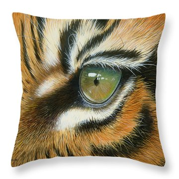Sumatra Throw Pillow