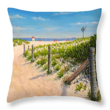 Summer 12-28-13 Throw Pillow