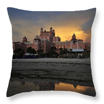 Summer At The Don Throw Pillow by David Lee Thompson