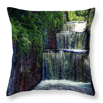 Summer At The Five Combines Throw Pillow