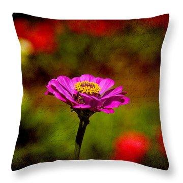 Summer Beauty Throw Pillow