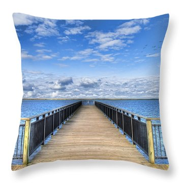 Throw Pillow featuring the photograph Summer Bliss by Tammy Wetzel