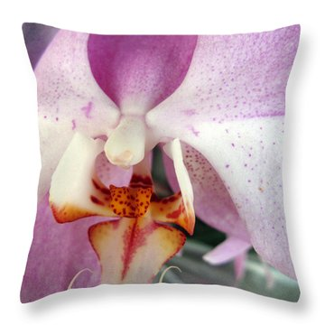 Throw Pillow featuring the photograph Summer Bloom by Joan  Minchak