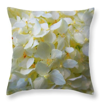 Summer Blossoms Throw Pillow