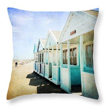 Throw Pillow featuring the photograph Summer Breeze by Anne Kotan