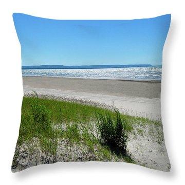 Summer Breeze Throw Pillow by Kamil Swiatek