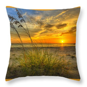 Summer Breezes Throw Pillow by Marvin Spates