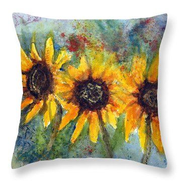 Summer Brilliance Throw Pillow