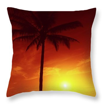 Summer By The Sea Throw Pillow