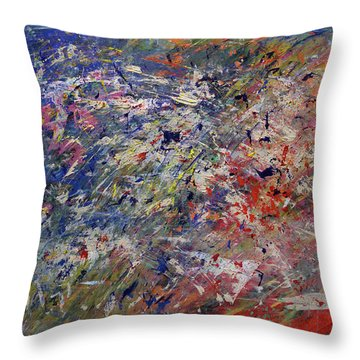 Summer Celebrations Throw Pillow