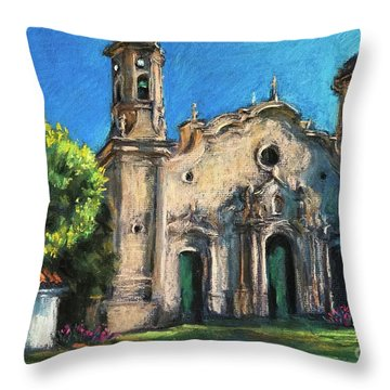 Summer Church Throw Pillow