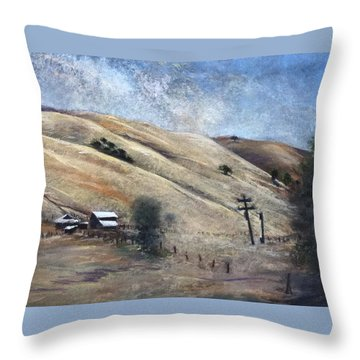 Summer Comes Early Throw Pillow