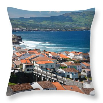 Summer Day In Sao Miguel Throw Pillow by Gaspar Avila