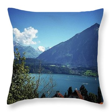 Summer Day Throw Pillow by Mimulux patricia no No