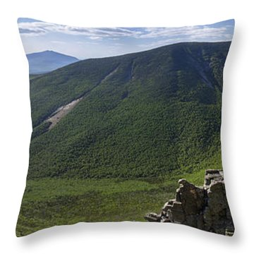 Summer Day On Bondcliff Throw Pillow