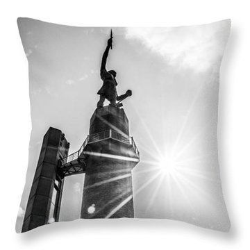 Summer Days At The Vulcan Throw Pillow