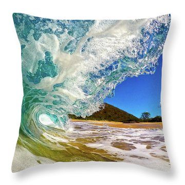 Summer Days Throw Pillow by James Roemmling