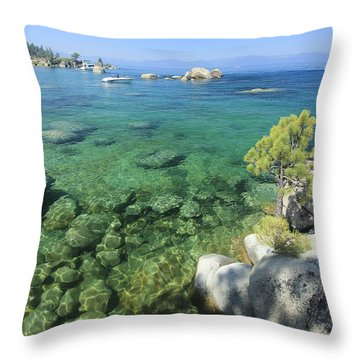 Throw Pillow featuring the photograph Summer Days  by Sean Sarsfield