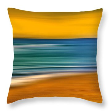 Summer Dayz Throw Pillow