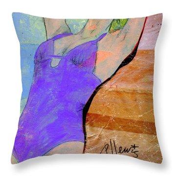 Summer Dreaming Throw Pillow