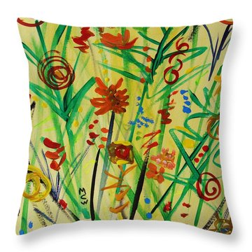 Summer Ends Throw Pillow by Mary Carol Williams