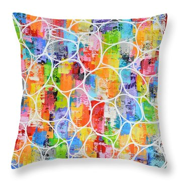 Summer Fling Throw Pillow