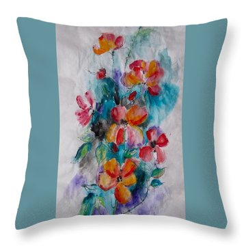 Summer Garden #1 Throw Pillow