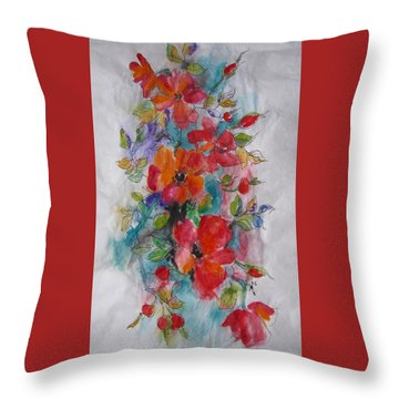 Summer Garden #2 Throw Pillow