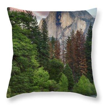 Summer Half Dome  Throw Pillow