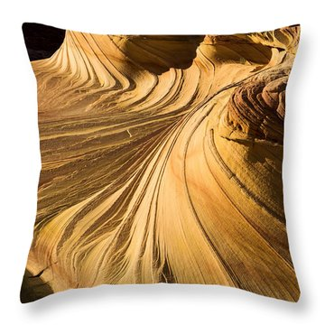 Summer Heat Throw Pillow