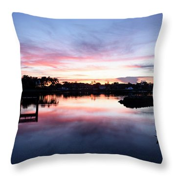 Throw Pillow featuring the photograph Summer House by Laura Fasulo