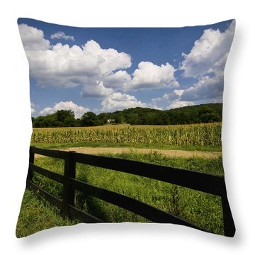 Summer In The Country Throw Pillow