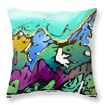 Summer Is Upon Us Throw Pillow