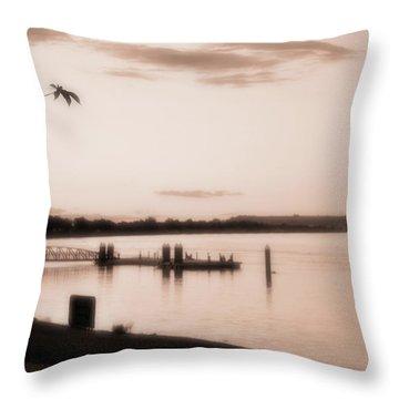 Summer Love Throw Pillow by Molly McPherson
