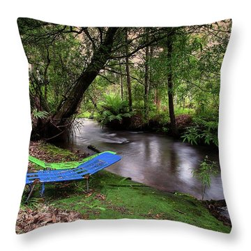Throw Pillow featuring the photograph Summer Lovin' by Tim Nichols