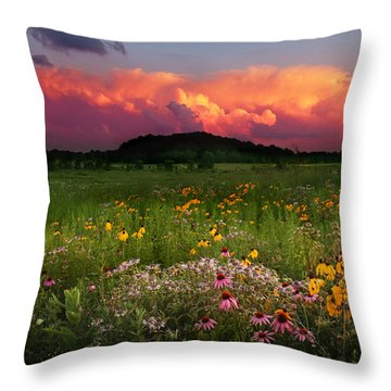 Summer Majesty Throw Pillow