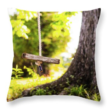 Throw Pillow featuring the photograph Summer Memories On The Farm by Shelby Young