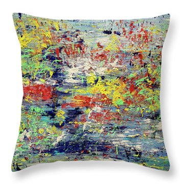 Summer Morning Throw Pillow