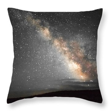 Summer Night Light Throw Pillow