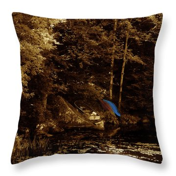 Summer Obsession Throw Pillow