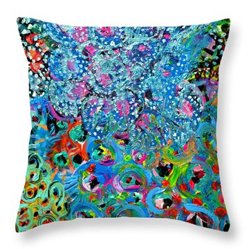 Summer Of Love Study No 1 Throw Pillow