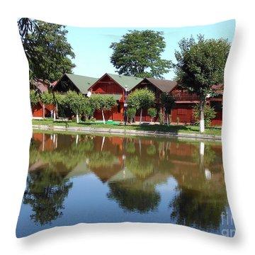 Summer Reflections  Throw Pillow
