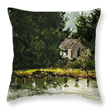 Summer Retreat Throw Pillow by Dale Stillman