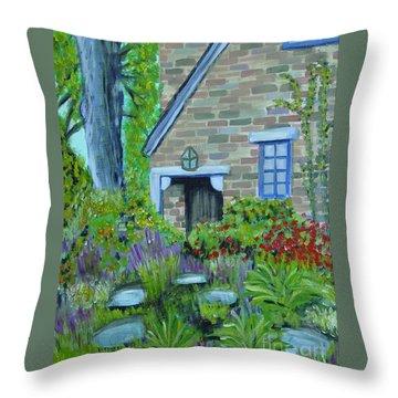 Summer Retreat Throw Pillow