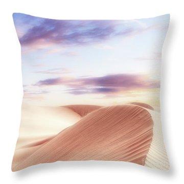 Summer Sands Throw Pillow
