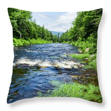 Summer Scene Rangeley Maine  -70742 Throw Pillow