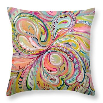 Summer Sermon Throw Pillow